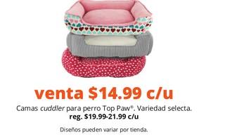 Camas Cuddler para Perro Top Paw