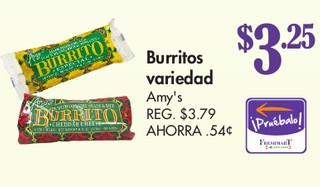 Burritos Variedad