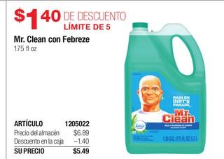 Mr. Clean Con Febreze