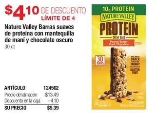 Nature Valley Barras Suaves de Proteína con Mantequilla