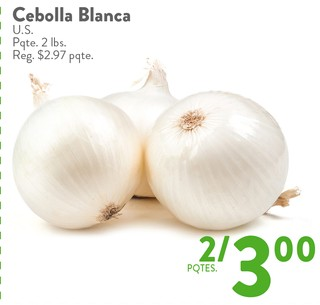 Cebolla Blanca