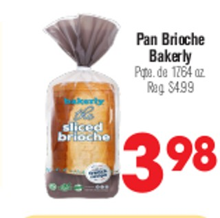 Pan Brioche Bakerly