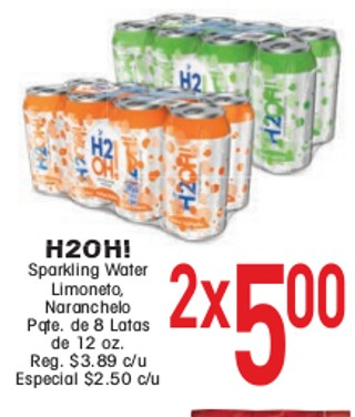 H2OH! Sparkling Water